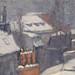 CAILLEBOTTE Gustave,1878 - Toits sous la Neige (Orsay) - Detail 22