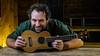 John the musician (MX Man) Tags: musician guitar godox ad 600 bm 360 fuji film xt 2 1655 f28 wr strobist portrait nostrobistinfo removedfromstrobistpool seerule2