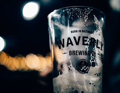 Born in Baltimore (seikoesquepayne) Tags: beer glass olympus waverlybrewing em1 mug f12 baltimore bubbles 25mm