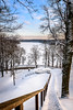 Stairway of winter (MantvydasD Photos) Tags: winter stairs stairway nature landscape frosty snow hill road lithuania lietuva seasons sunset sun sky clouds