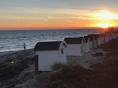 Promise to take more beachwalks! (anna.cj) Tags: sunset beach 170122 fotosondag lofte