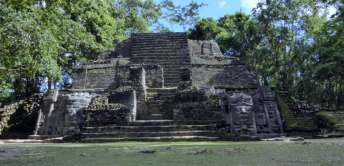 Mask Temple - Belize - Lamanai