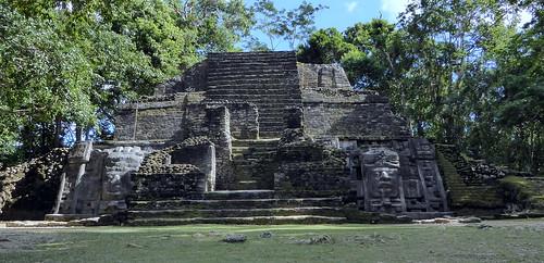 Mask Temple - Belize - Lamanai
