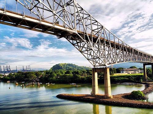 Bridge of the Americas OR Puente de las Américas OR Thatcher Ferry Bridge - Panama 25