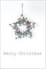 Merry Christmas (haberlea) Tags: home christmas christmasdecorations star wood white onwhite decoration wall merrychristmas card grey minimal athome berries green red