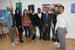"Inauguración de la exposición ""Tierra Tricolor"" de Julio Reyes • <a style=""font-size:0.8em;"" href=""http://www.flickr.com/photos/136092263@N07/31746888843/"" target=""_blank"">View on Flickr</a>"