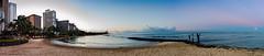 Hawai_75--D4S_7629-Pano (BilderMaennchen) Tags: hnl honolulu sunrise beach hawaii