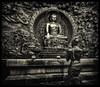 Lord Buddah (Tim Moffatt) Tags: buddah religion asia china bw