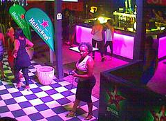 Nightlife (Midnight Believer) Tags: nightlife club bar candid nighttime lights checkeredfloor indoors