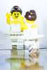Dancing Queen (Chris O'Brien Photography) Tags: lego inspiredbyasong dancingqueen abba ballet ballerina dance studio mirror reflection tutu minifigure smile dancing smiling