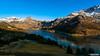 France, Alpes, Savoie, Beaufortain, le lac de Roselend, le Roc du Vent et le Mont Blanc en fin de journée. (Happictures (Olivier Baudot)) Tags: happictures olivierbaudot sony sonya77ii sonyalpha77ii sonyilca77m2 dt1650mmf28ssm slt montagne mountain montagna montañas montblanc montebianco landscape paysage lac lake barrage edf alps alpes beaufort arêchesbeaufort arêches reflets reflection rocduvent france francia frankreich europe europa eu savoie hautesavoie beaufortain alpage tarentaise roselend cormet hiver winter neige sn