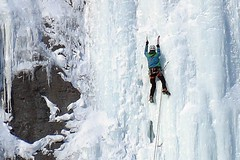 Ice Climbing (5of7) Tags: ice climbing outdoor mountain extreme sport people banff alberta canada canadianrockies iceclimbing banffnationalpark rockymountains schöne aufnahme fav winter 10fav 13fav