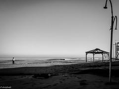 abandonment (geo_christoforakis) Tags: rethymno rethimno crete greece beach monochrome blackandwhite bw contrast shore coast sea seaside abandoned outdoors outdoor canon canonpowershotsx60hs canonflickraward