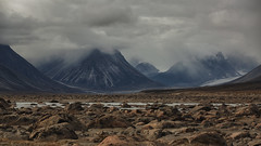 The June Valley (Andrew G Robertson) Tags: baffin auyuittuq national park nunavut canada mist cloud mountain island june valley akshayuk pass