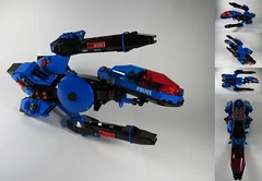 SP1-R Fencer (Captain Herffenblerf) Tags: lego space classic starfighter spaceship