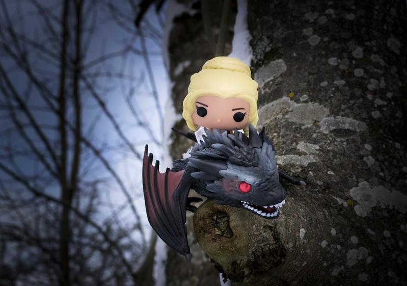 dragon gameofthrones got pop funkopop figurine daenerys drogon targaryen westeros série hbo