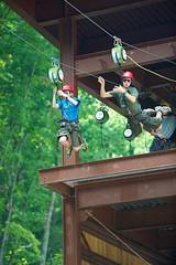 Innovative multiple use of High Wire Ropes Courses. #gaming and #socialmedia #integration. http://j.mp/2i7i7or (Skywalker Adventure Builders) Tags: high ropes course zipline zipwire construction design klimpark klimbos hochseilgarten waldseilpark skywalker