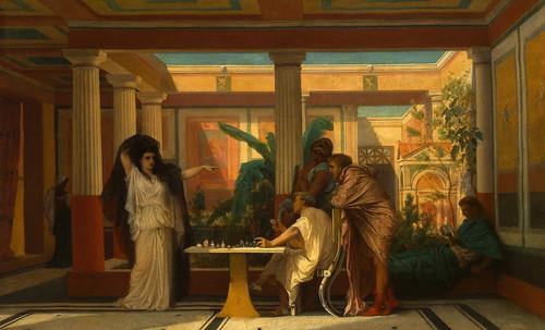 "Petteia - Ludus Latrunculorum  / Iconografía de las civilizaciones helenolatinas • <a style=""font-size:0.8em;"" href=""http://www.flickr.com/photos/30735181@N00/32522192295/"" target=""_blank"">View on Flickr</a>"
