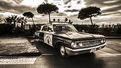 1963 MERCURY MONTEREY (poliejido_cazes) Tags: patrol monterrey police mercury 1963 pineda de mar catalonia catalunya cataluña monochrome vehicle car classic