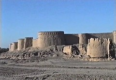 Bam en 2002 (Micheline Canal) Tags: iran bam archéologie maisondeforce ruine