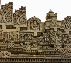Beautiful Vimana - Hosahalalu (Swaminathan Natarajan) Tags: hoysala templearchitecture india incredibleindia photography travel heritage blogger soapstone stoneart canon canon550d karnataka historic architecture stone art travelphotography