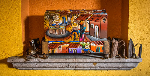 2016 - Mexico - Morelia - Wood Art with Irons