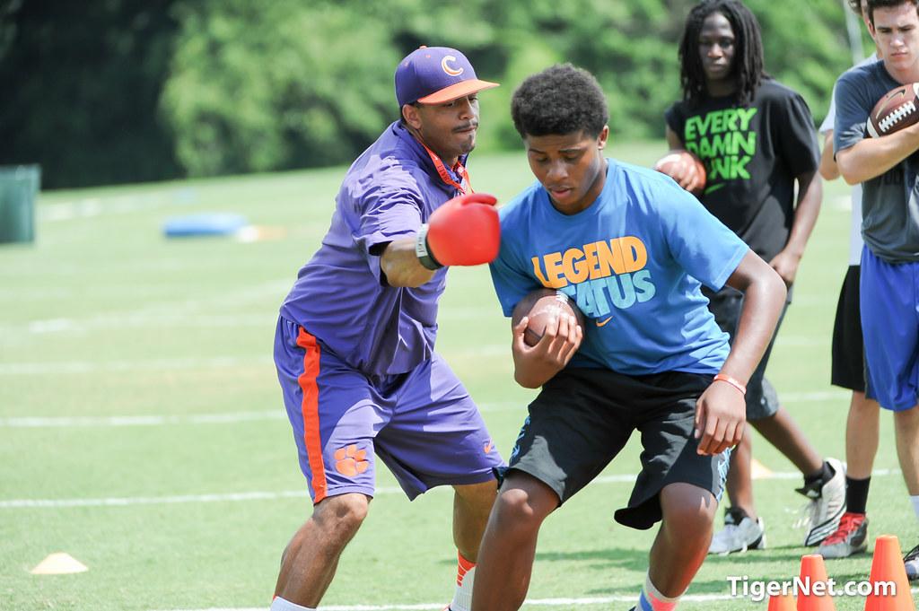 Clemson Photos: Tony  Elliott, 2015, Recruiting, Football