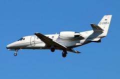 G-OMEA_01 (GH@BHD) Tags: corporate aircraft aviation executive cessna citation bizjet bhd belfastcityairport gomea citationexcel c560 c560xl
