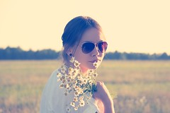 Female in Sunglasses Holding White Flowers (Image Catalog) Tags: flowers portrait woman girl face field sunglasses female outdoor sunflower daisy earrings asteraceae aster publicdomain whiteshirt whiteflowers compositae