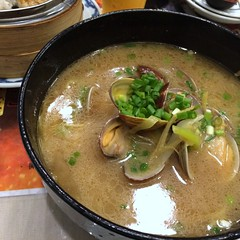 Asari shellfish ramen from Kicho in Yokohama China Town (Fuyuhiko) Tags: china from town ramen shellfish yokohama   asari      kicho