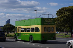 IMGP1970 (Steve Guess) Tags: uk england bus green buses open top rear hampshire topless gb portsmouth 100 titan northern topper southsea leyland counties centenary hants southdown pd3 ncme 416dcd