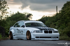 RIIVA Design BMW E36 (WatercooledSociety) Tags: bunny design air low vivid wrap bmw rocket society stance e36 airride watercooled riiva mdbimages
