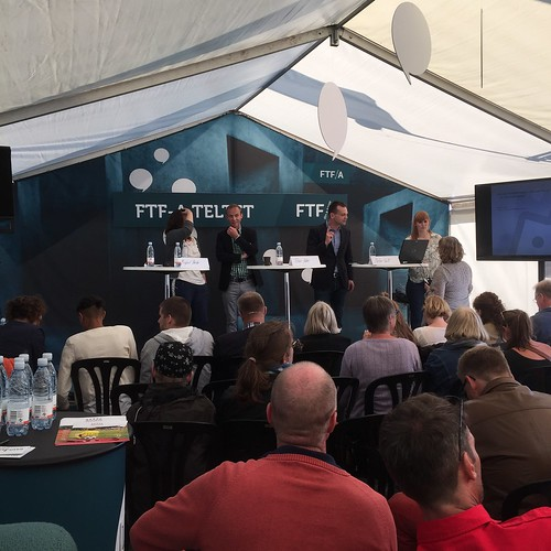 Folkemødet: Debate at FTF-A