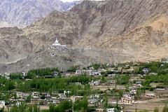 leh town (thupstan_rin) Tags: stupa himalaya leh ladakh tibetanbuddhism littletibet incredibleindia shantistupa lastparadise lastshangrila