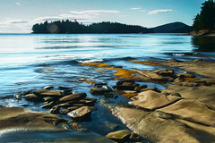 Morning at Flagpole Point (SarahLTweedale) Tags: morning galiano gulfislands photoart