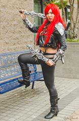 085 (Fearless Zombie) Tags: anime cosplay manga gaming katarina leagueoflegends gamcon gamcon2014
