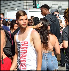 SF Pride - 2015 (Little Italy Photography) Tags: sanfrancisco california costumes shirtless white black hot men boys face mexico grove market cityhall muscle chest rear ripped marriage peanuts glbt pride front tattoos butts lgbt latin bayarea kansas guns backs wrestlers ido civiccenter gotmilk larkin equality polk equal mcallister singlet bieber crotches paintedfaces bulges lovewins goldengatestreet squrtgun nikond7100 gaypride2015 nikon35mmf18gafsdxnikkorlens sfpride2015 pride2015
