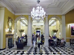 Claridge's Hotel, London @ 20 September 2014 (4/18) - Entrance Hall (Kam Hong Leung) Tags: birthday light white fish flower building london cup reed rose cake stairs silver menu fire gold hotel hall candle purple chocolate flag knife salmon plate sandwich reception pineapple raspberry hydrangea scone pastries viola luxury cutlery caviar claridges beatriceleung kamhongleung leungkamhong claridgeshotel 5starhotel birthdaycake afternoontea englishtea tearoom goldleaf