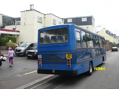 Tantivy 24 (Coco the Jerzee Busman) Tags: uk blue bus islands coach camo renault cannon jersey swift dennis tours dart channel leyland lcb plaxton tantivy