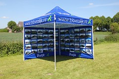 Quick Folding Tent - Full Color Print (12)