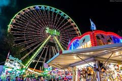 Jupiter (Wiktor Trawiński) Tags: carnival beautiful wheel night colours teddy smoke bears ferris jupiter