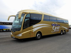Bakers Scania Irizar PB, HD08 GLD (miledorcha) Tags: travel holiday gold holidays mare baker dolphin quality somerset super pb service tours executive 112 luxury touring coaches westonsupermare weston scania bakers psv pcv irizar coachwork hd08gld k470eb6
