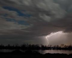 Lightning (corkemup52) Tags: lake storm nature nebraska stormy lightning nikon18200mm nikond7000 wannahoo
