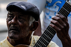 """Ar Ribeiro - Ok.  Srie """"O Pas do Sol - Para Joo do Rio. Msico no Parque Jardim da Luz."""" (Ar Ribeiro) Tags:"""