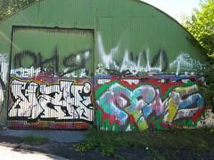 Pispala graffiti (Thomas_Chrome) Tags: street streetart art suomi finland graffiti europe gallery fame spray nordic walls tampere pispala