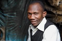 The man from Mathare. (Miro May) Tags: afrika africa afrique african kenya kenia nairobi mathare man portrait portraiture slum