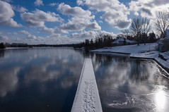 Rideau Canoe Club (christopherdeacon) Tags: afternoon outdoors river sky winter