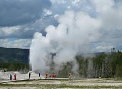 Eruption (jimsawthat) Tags: thermalfeature geyser eruption uppergeyserbasin rural wyoming yellowstonenationalpark