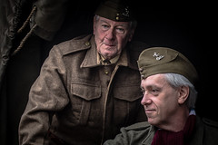 Lavenham Life, 1940's Revisited, Suffolk, England. (bearprintsphotography) Tags: lavenham homeguard ww2 british army uniform 1940s 1940 england nostalgia retro period village suffolk