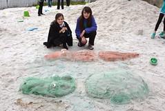 1st Place Sandcastle Winners Rebecca&Brooke Criner-LuLu's 2016-2